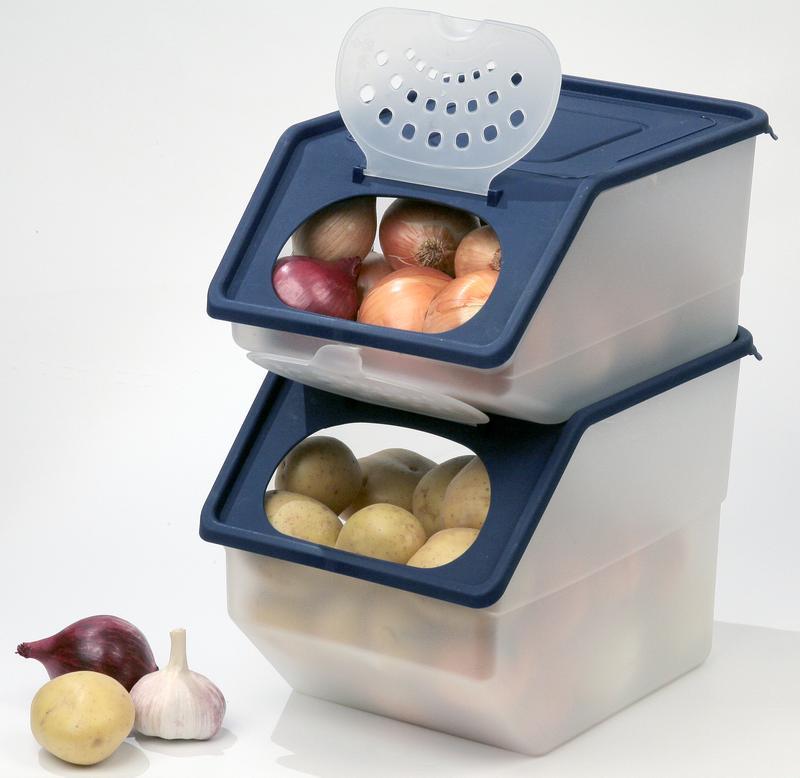 Контейнеры для хранения овощей пластиковые