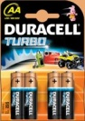 БАТ. DURACELL TURBO AA LR6 ULTRA 4ШТ.