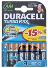 8ШТ БАТ. DURACELL TURBO AAA