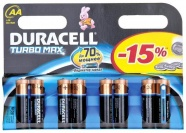 БАТ. DURACELL TURBO AA 8ШТ